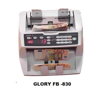 MÁY ĐẾM TIỀN GLORY FB -830